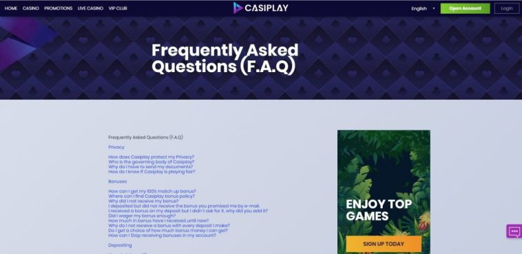 AzartGambler Casiplay FAQ