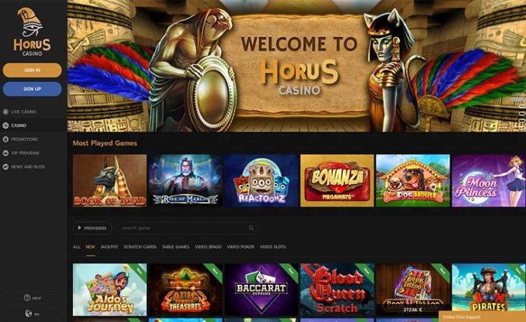 AzartGambler Horus casino