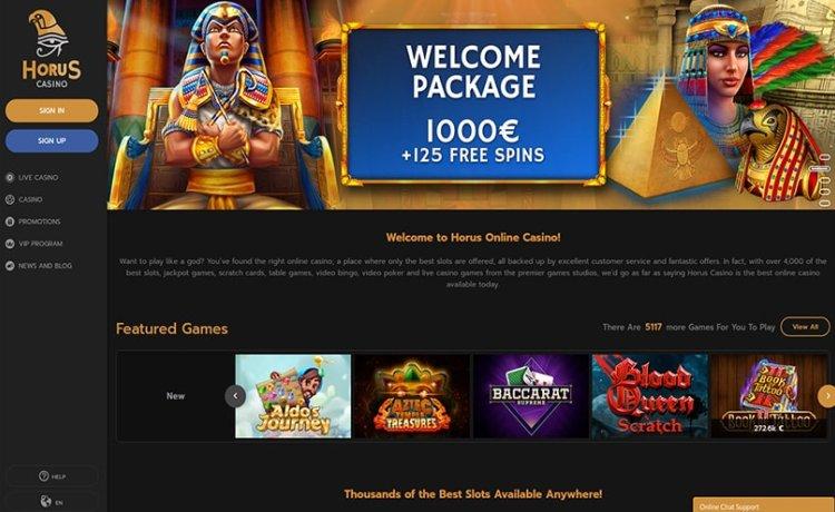 AzartGambler Horus Casino 3