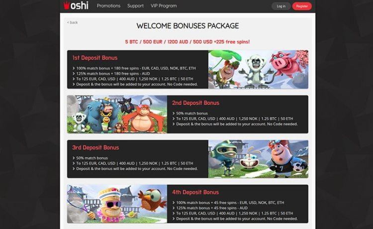 AzartGambler Oshi casino bonus