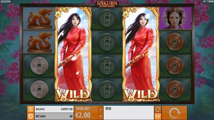 Azartgambler Sakura fortune slot