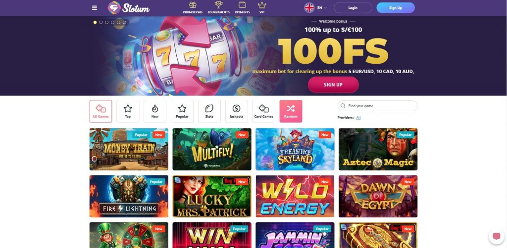 Azartgambler Slotum Casino review