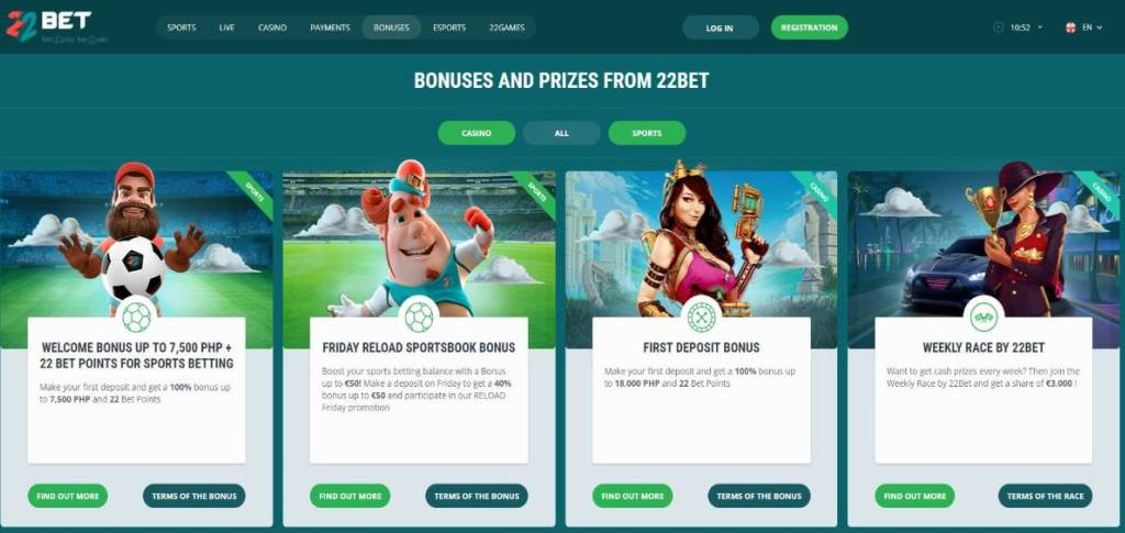 Azartgambler 22bet-bonuses