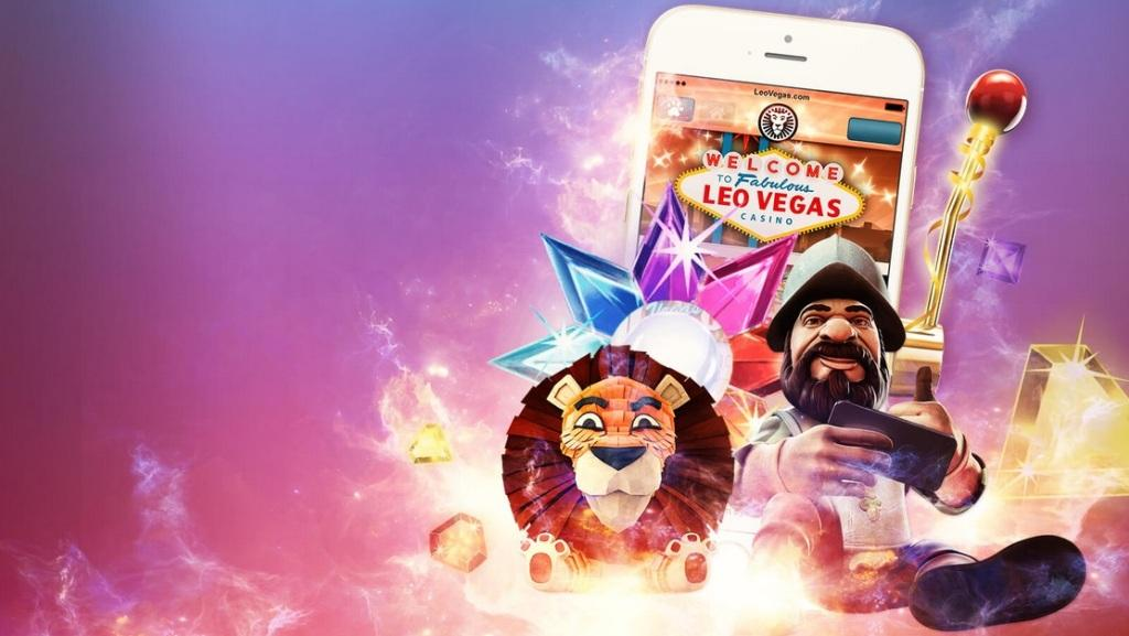 Azartgambler LeoVegas-mobile