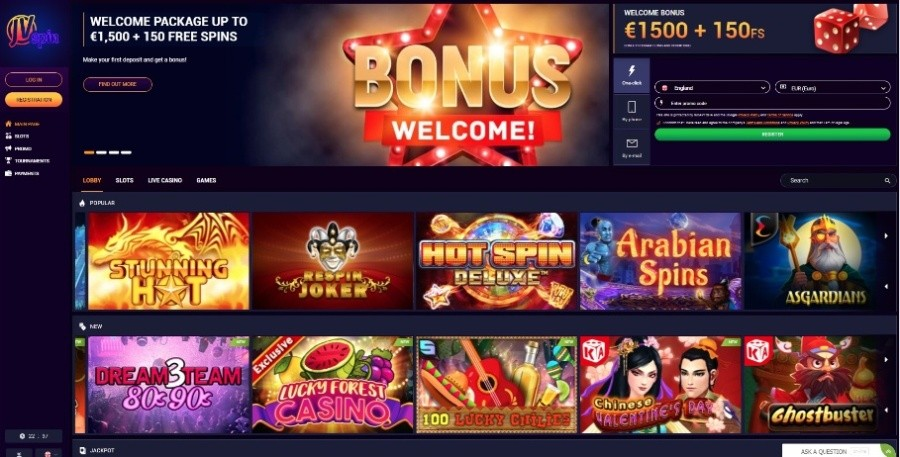 Azartgambler JVSpin casino bonus