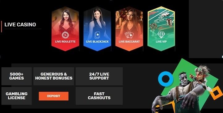 Azartgambler Live Casino